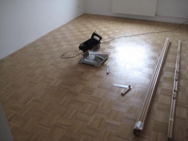 ein neuer parkettboden malerbetrieb. Black Bedroom Furniture Sets. Home Design Ideas